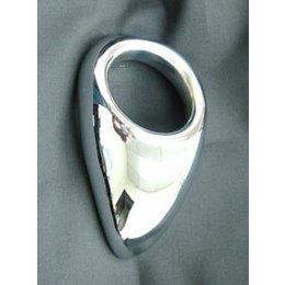 Ballistic Metal Aluminum Teardrop Cock Ring