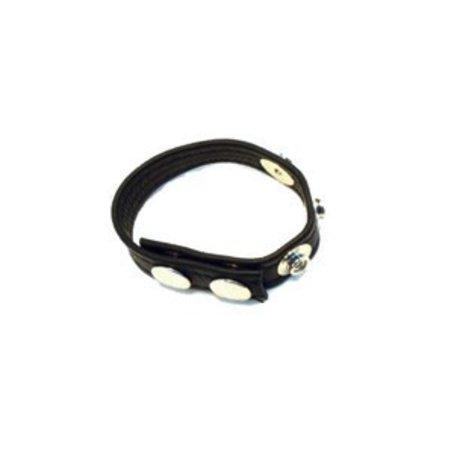 Aslan Aslan 5-Snap Cock Ring, Leather