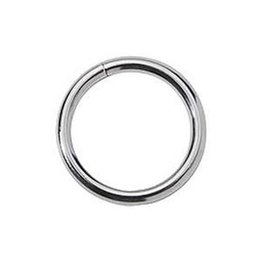 Spartacus Metal O-Ring, Chrome-Plated 1.75 inch