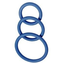 Nitrile Cock Rings, Set of 3