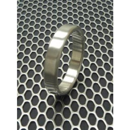 Ballistic Metal Stainless Steel Narrow Cock Ring