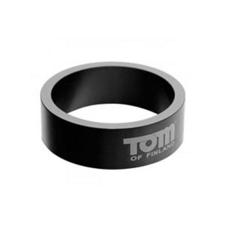 Tom of Finland Aluminum Cock Ring, 60mm