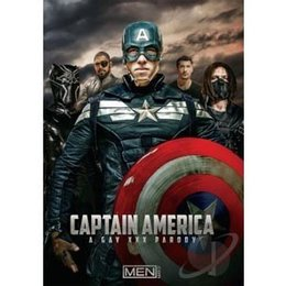 Men.com Captain America Gay XXX Parody DVD