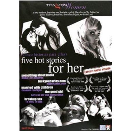 Erika Lust Films Five Hot Stories for Her DVD