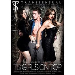 Trans Sensual TS Girls On Top DVD