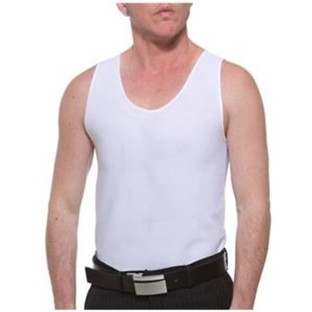 Underworks Underworks Double Front Compression Chest Binder 997- Anton, White