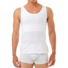 Underworks Cotton Concealer Chest Binder 988- Luis, White