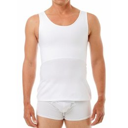 Underworks Underworks Cotton Concealer Chest Binder 988- Luis, White