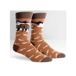 Sock It To Me Bear Necessities Crew Socks