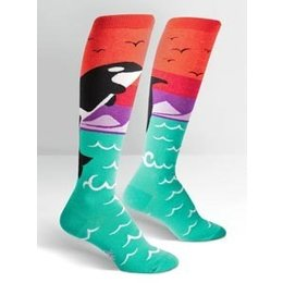 Sock It To Me Orca Knee Socks