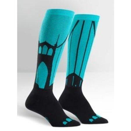 Sock It To Me Put a Bridge On It Knee Socks