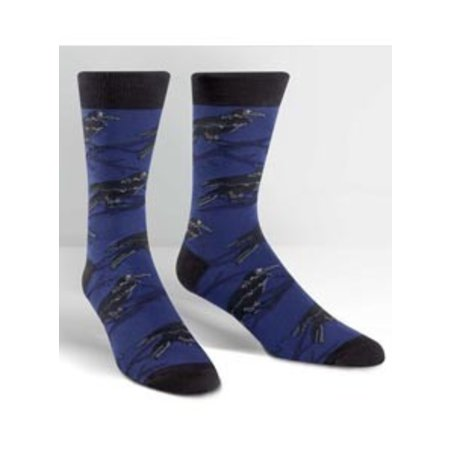 Sock It To Me Raven Crew Socks