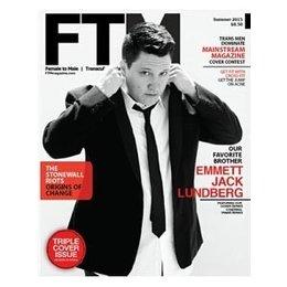 FTM Magazine, Summer 2015: Emmet Jack Lundberg Cover