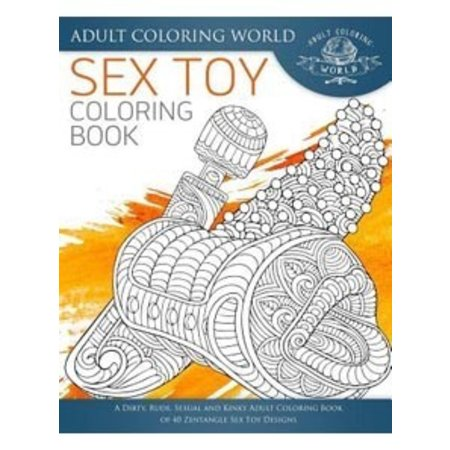 Createspace Sex Toy Coloring Book
