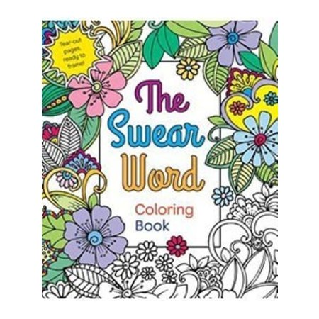 Swear Word Coloring Book Adult Coloring Book