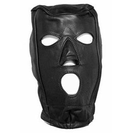 Kookie Leather Slave Hood