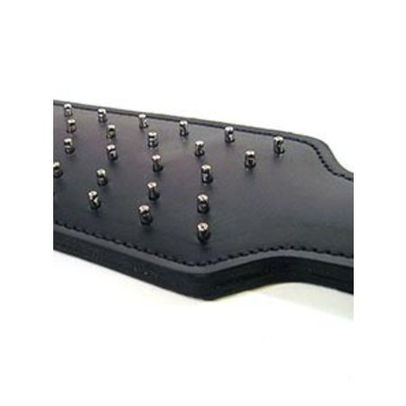 Leather Prick Paddle, Black