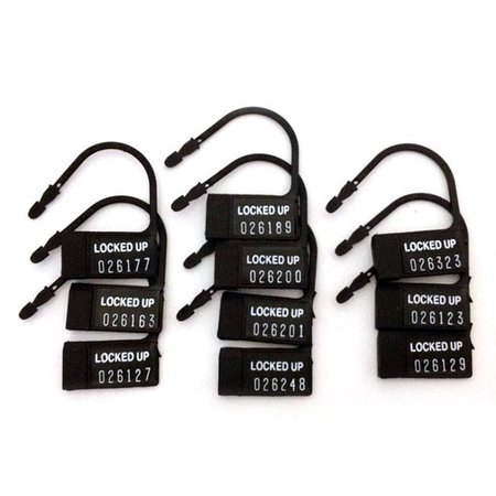 A.L. Enterprises Plastic Locks for Chastity Cage Devices, 10-pack