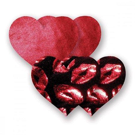 Nippies Hot Lips Hearts Pasties