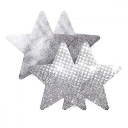 Nippies Silver Stars Pasties