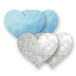 Bristols Nippies Something Blue Hearts Pasties