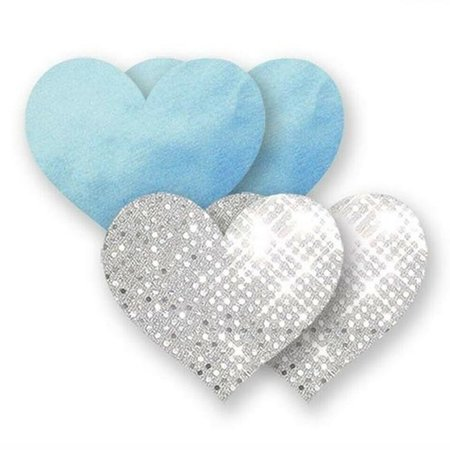Nippies Something Blue Hearts Pasties