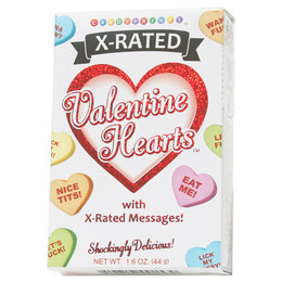 X-rated Valentine Candy Hearts