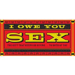 IOU Sex Checks