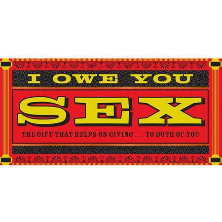 Chronicle IOU Sex Checks
