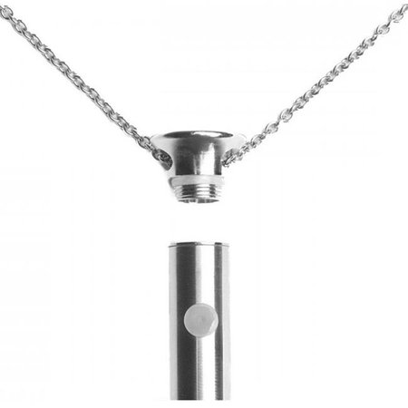 Crave Vesper Necklace Vibrator, Stainless Steel