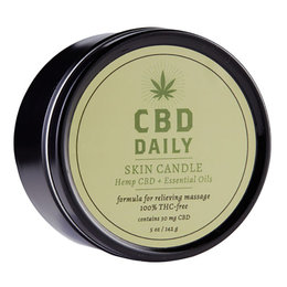 CBD Daily Massage Candle