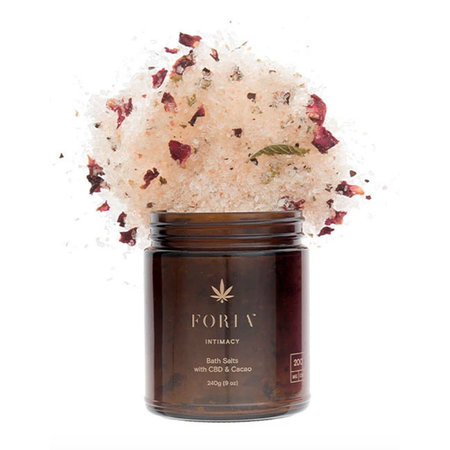 Foria Foria Intimacy Bath Salts with CBD and Cacao