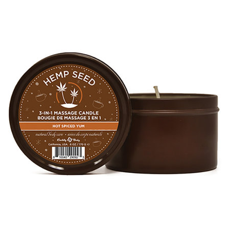 Earthly Body Scented Massage Candle, Hot Spiced Yum