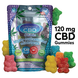 CBD Edibles Gummy Bears 8 pieces