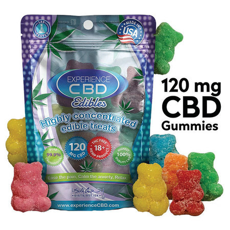 Experience CBD CBD Edibles Gummy Bears 8 pieces