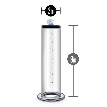 Performance 9 inch Penis Pump Cylinder
