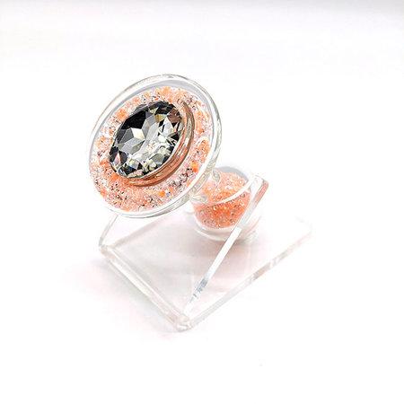 Crystal Sparkle Glow-In-The Dark Plug, Orange Tang Sizzle