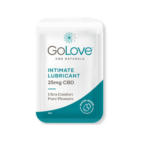 GoLove Water-Based CBD Lubricant