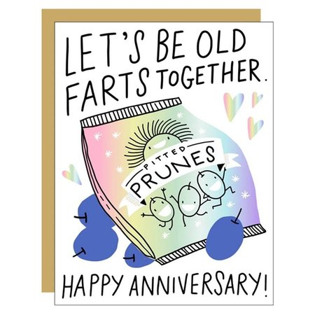 Old Farts Greeting Card