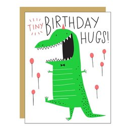 Tiny Hugs Greeting Card