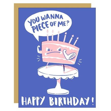 Yolked Cake Birthday Greeting Card