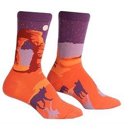 Delicate Arch Crew Socks
