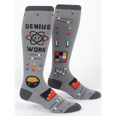 Stretch It Genius at Work Wide Calf Knee Socks