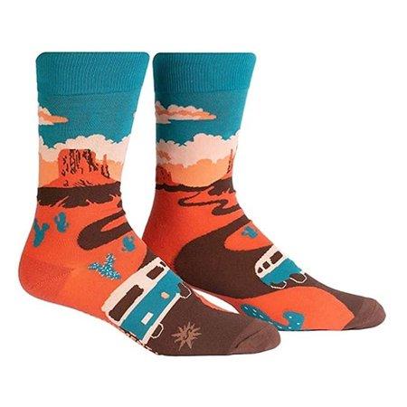 Monument Valley Crew Socks