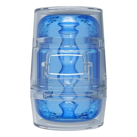 Main Squeeze Pop-Off Optix Blue Crystal