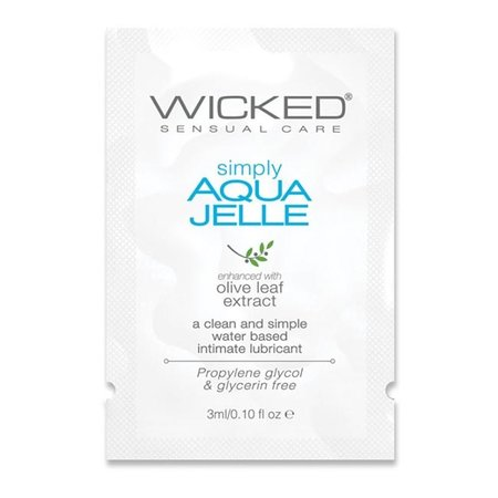 Wicked Simply Aqua Jelle Lubricant
