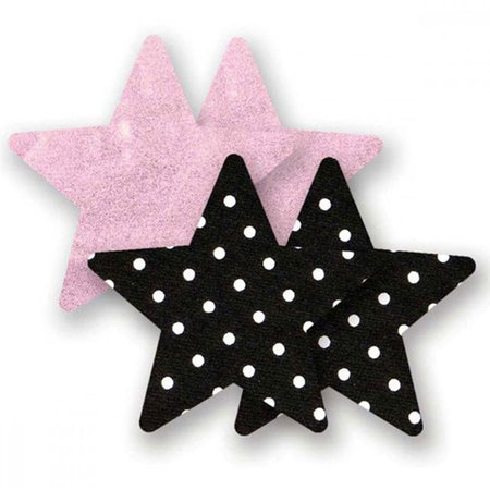 Nippies Pretty in Pink Stars Pasties