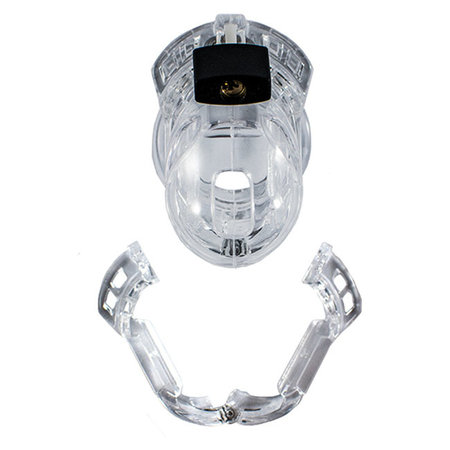 Locked In Lust The Vice Chastity Device, Mini V2 Clear