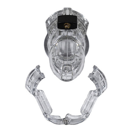 Locked In Lust The Vice Chastity Device, Standard Clear