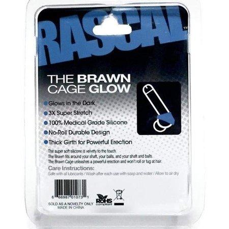 Rascal The Brawn Cock Cage Glow